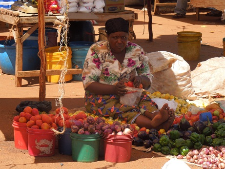 Woman at the market